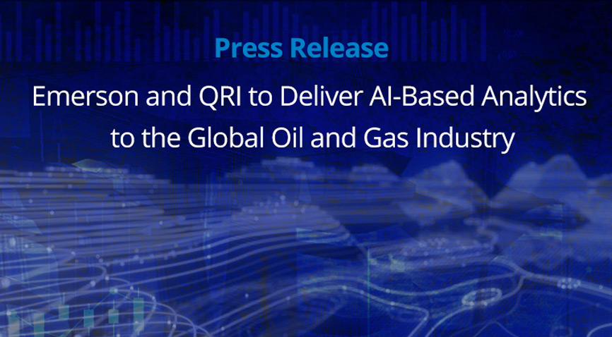 Emerson and QRI deliver Oil and Gas Artificial Intelligence