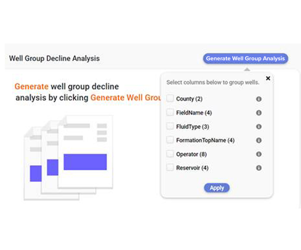 Decline Curve Analysis - Well Group Analysis